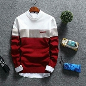 Buy Virda Tex Red White New Edition Sweat Shirt For Men    online