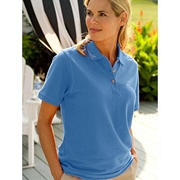 Mardaz Sky Blue Polycarbonate Polo For Women