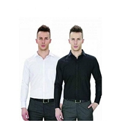 Buy Pack Of 2 - Black & White Cotton Formal Shirts For Men  online