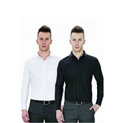 Pack Of 2 - Black & White Cotton Formal Shirts For Men