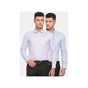Pack Of 2 Slim Fit Formal Shirts