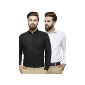 Buy Pack Of 2 Formal Shirts for Mens  online
