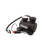 12 Volt Car Tire Air Pump Compressor Inflator Black