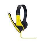 Audionic ECCO Stereo Ultra Bass Headphones - Yellow