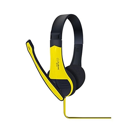 Buy Audionic ECCO Stereo Ultra Bass Headphones - Yellow  online