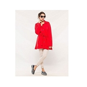 Buy New Style Red Fleece Coat  For Women's AA-ES-020  online