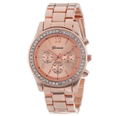 Classic Geneva Quartz Ladies Watch