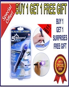 Buy 2 5 Second Fix Liquid Plastic Welding Tool And Get 1 Free Gift Surprise