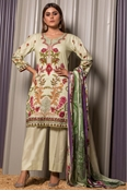 Buy Unstitched Printed Cotton for Women 3 Pieces By Misha Design | M-RC-1-20  online