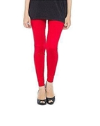 Red Cotton Tights For Women