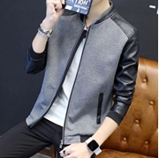 New Stylish Leather Sleeves Zipper For Men VT-SE-031