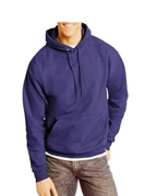 Navy Blue Pullover Hoodie for Men