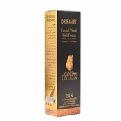 Buy Dr-Rashel Facial Wash Gel Foam With Real Gold Atoms & Collagen Facial Cleanser  online