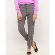 Grey French Terry Trouser for Women