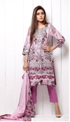 Buy Unstitched Printed Cotton with Lawn Dupatta for Women By Misha Design MD-SF-00146  online