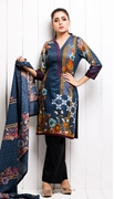 Unstitched Printed Cotton with Lawn Dupatta for Women By Misha Design MD-SF-00156