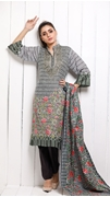 Unstitched Printed Cotton with Lawn Dupatta for Women By Misha Design MD-SF-00158