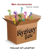 Mystery Box of Genuine Leather Men Accessories (Pack Of Three)