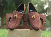 snj Loafer Brown  (1719A)