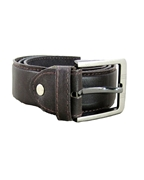 House of Leather Brown Single Stitch Formal Belt