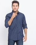 ELEMENT CLASSIC HERRINGBONE DENIM SHIRT EJ-004