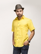 ELEMENT YELLOW IRISH LINEN SHIRT EJ-022
