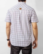 Buy ELEMENT WHITE COTTON YARN DYED PLAID SHIRT EJ-024  online