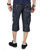 Buy ELEMENT DARK WASH DENIM CARGO SHORTS EJ-032  online