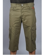 ELEMENT OLIVE COLOUR CARGO SHORTS EJ-033