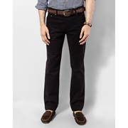 ELEMENT BLACK PEACH FINISH COTTON TWILL LOW RISE SLIM FIT JEANS  EJ-038