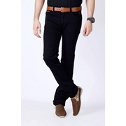 ELEMENT BLACK SLIM FIT JEANS WITH REFLECTIVE TRIMS EJ-041