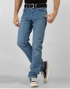 ELEMENT ICE BLUE SLIM FIT JEANS EJ-046