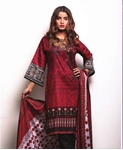 Unstitched Printed Cotton with Lawn Dupatta for Women By Misha Design MD-SF-00183