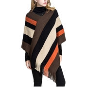 Mardaz Womens Winter Wool Cape Shawl M-SH-0104