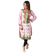 Women Cotton Embroidered  Kurti By Wokstore Wokstore-003