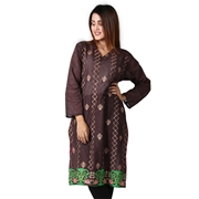 Women Cotton Embroidered  Kurti By Wokstore Wokstore-004
