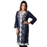 Women Cotton Embroidered  Kurti By Wokstore Wokstore-006