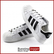 Buy White Black Casual Slide-ankle Shoes   online