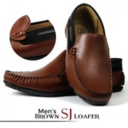 Men's Brown SJ Causul Loafer