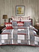 Khas Stroes Ancient Patch BED SHEET QUEEN 1000000022980