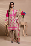 Unstitched Printed Lawn for Women 3 Pieces By Misha Design | M-S-3-04