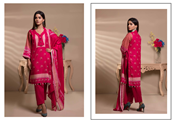 Buy Unstitched Printed Lawn for Women 3 Pieces By Misha Design   M-S-3-06  online
