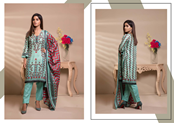Buy Unstitched Printed Lawn for Women 3 Pieces By Misha Design | M-S-3-09  online