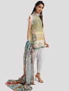 KHAS STORES 2 PCS LAWN SHIRT AND DUPATTA RKL-13020