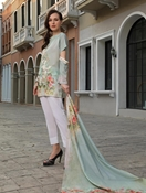 Buy KHAS STORES 2 PCS LAWN SHIRT AND DUPATTA RKL-13024  online