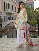 KHAS STORES 2 PCS LAWN SHIRT AND DUPATTA RKL-13026