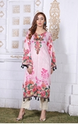 Lala Digital Print Kurti Cream 1000315599016