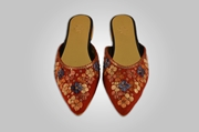 Bright Red Mule shoes WFW0015