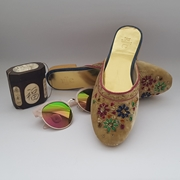 Fawn velvet mule shoes WFW0019