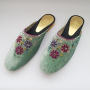 Mint Velvet Mule Shoes with Embellishment WFW0043